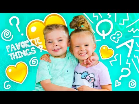 BEST FRIENDS TODDLER Q&A! - So Funny!!!