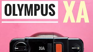 Olympus XA 35mm Film Camera Review.