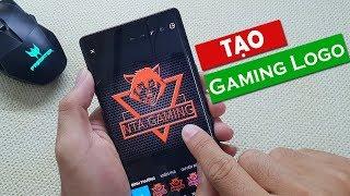 Cách tạo Logo Gaming bằng điện thoại cực chất