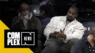 Is Kanye in Wyoming on Album Mode?