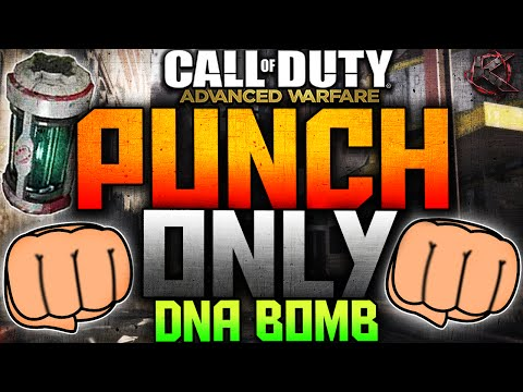 "COD Advanced Warfare - ""PUNCH ONLY"" DNA BOMB - Melee Only DNA Bomb! (C..."