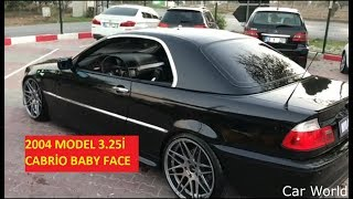 2004 MODEL 3.25İ CABRİO BABY FACE car automobile  look at this beauty