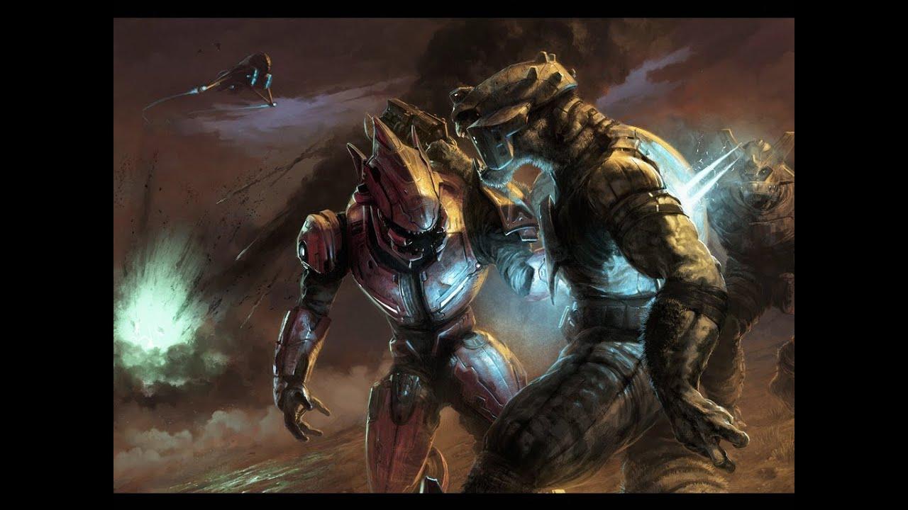 Halo 3 Elites vs Halo 4 Elites Halo 3 Upgraded Elites vs