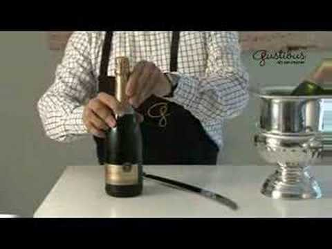 Open champagne with a sabre!