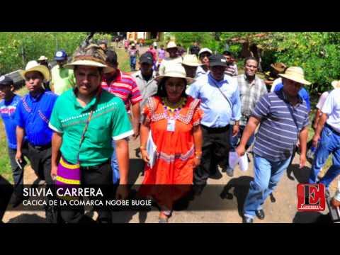 Conferencia de Prensa de la Cacica Silvia Carrera