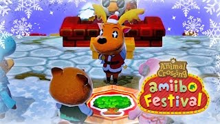 Let's Play Animal Crossing Amiibo Festival in December!!