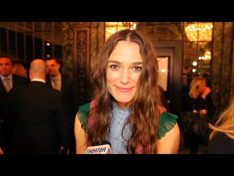 Keira Knightley and the Cast of Thérèse Raquin Enjoy a Thril
