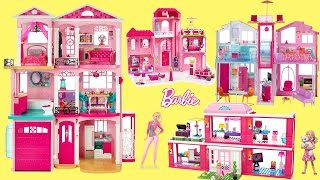 BEST Barbie Dreamhouse and Luxury Mansion Compilation 2016 - Barbie Dolls Life in The Dreamhouse