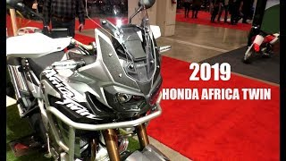 2019 Honda Africa Twin Adventure Sports - Toronto Motorcycle Show