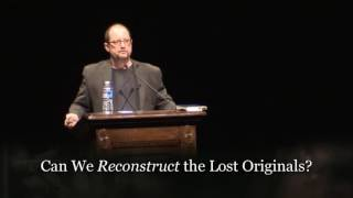 Video: Is the New Testament lost? - Bart Ehrman vs Daniel Wallace
