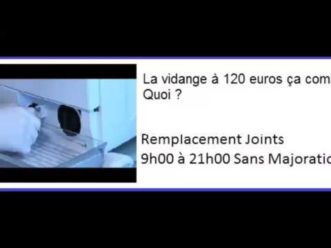 vidéo Installation machine à laver plombier