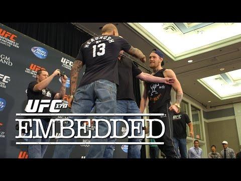 UFC 178 Embedded Vlog Series  Episode 5