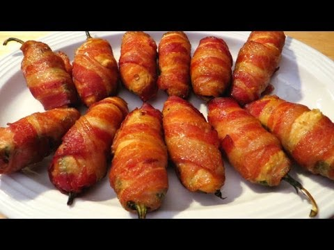 How to Grill Crab meat Stuffed Jalapeno Poppers - The Wolfe Pit