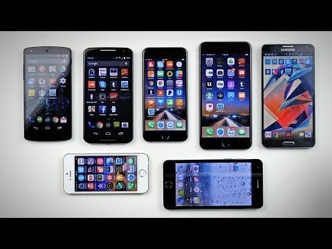 iPhone 6 vs iPhone 6 Plus vs Moto X vs Others! (Geekbench 3)