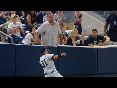TOR@NYY: Ichiro gets 4,000th hit, makes sliding catch