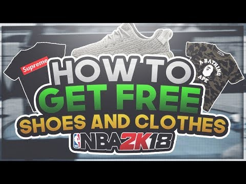NBA 2K18 | Free Clothes And Shoes