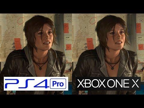 ONE X VS PS4 Pro | Rise of the Tomb Raider | GRAPHICS COMPARISON