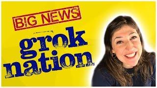 BIG NEWS FROM GROK NATION!    Mayim Bialik