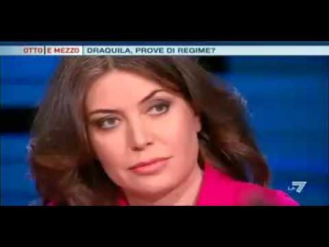 SABINA GUZZANTI VS CARLO ROSSELLA – DRAQUILA PROVE DI REGIME ? a 8 E MEZZO 1* PARTE