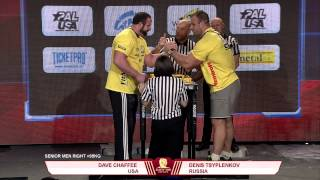 Denis Cyplenkov vs Dave Chaffee   +95kg Right Hand