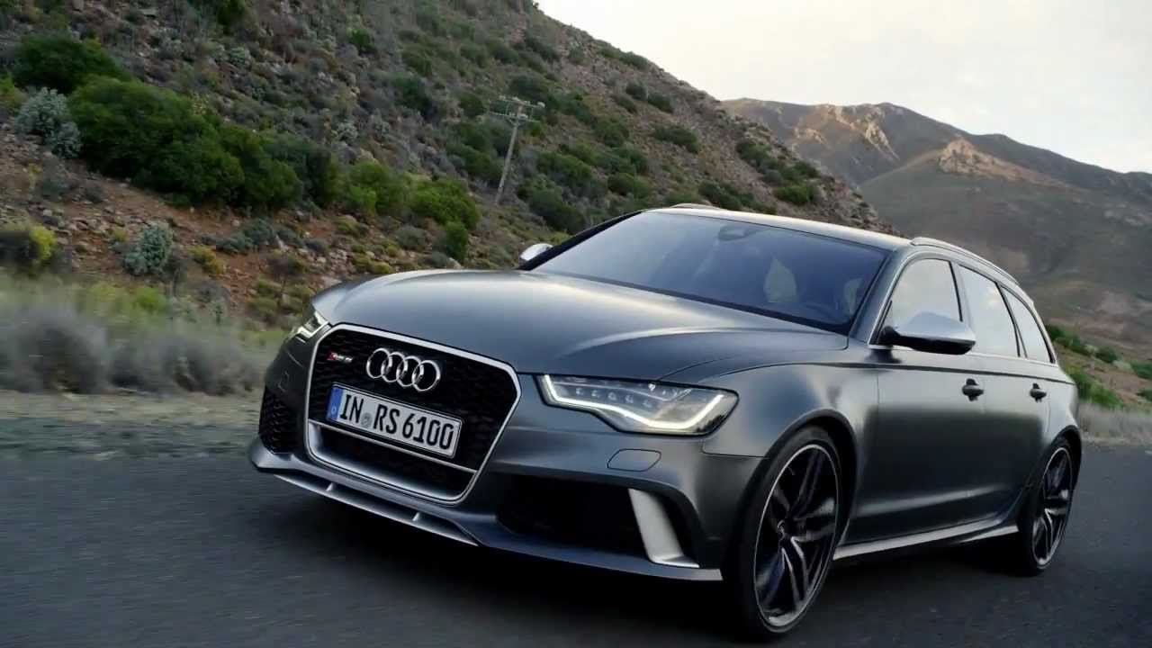 2013 Footage New Audi Rs6 Avant Youtube