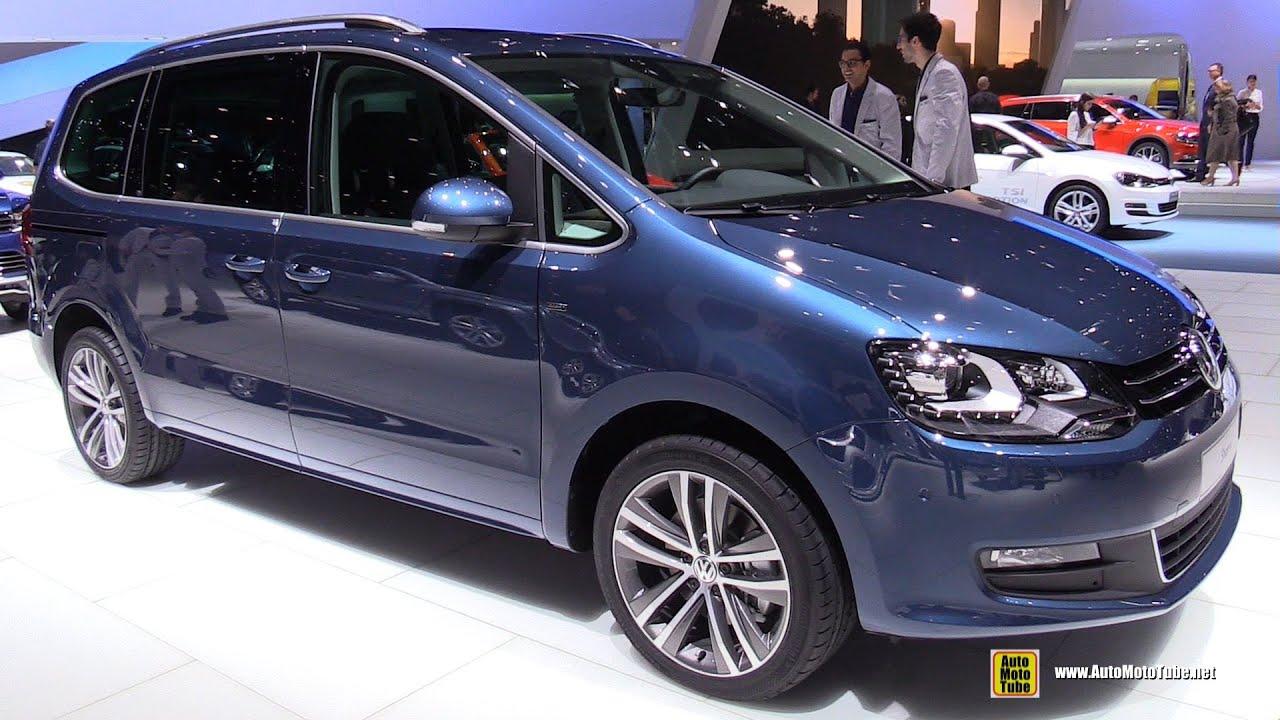 2016 Volkswagen Sharan TDI BlueMotion Ocean - Exterior ...