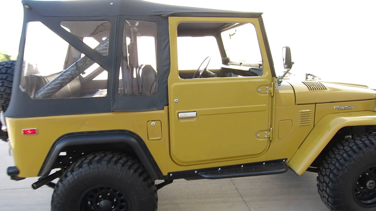 1975 Toyota Land Cruiser FJ40 For Sale V8 Lifted in