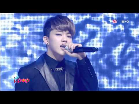 [130312] B.a.p (비에이피) - Rain Sound (빗소리) + One Shot (원샷)  Arirang Tv Simply Kpop video