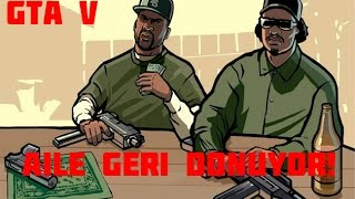 GTA 5 - Grove Street e Carl ve Sweet geri dönüyor (Hood Safari Easter Egg)
