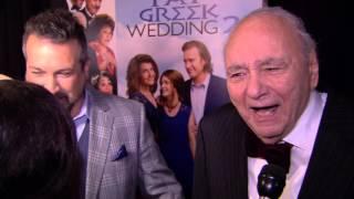 My Big Fat Greek Wedding 2: Michael Constantine Red Carpet Movie Premiere Interview