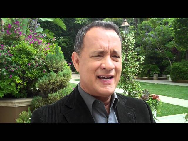 TOM HANKS speaks with the HFPA