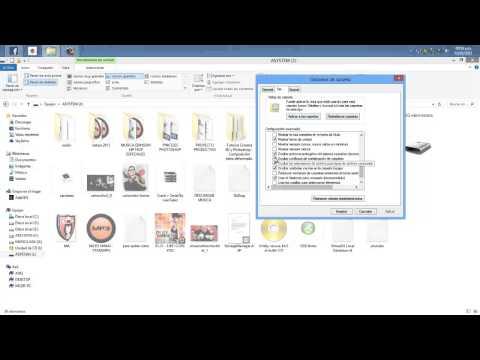 Como mostrar archivos ocultos de un usb en windows 8