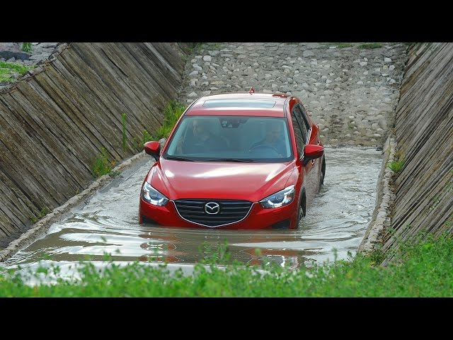 Mazda CX-5 Off-Road Demonstration - YouTube