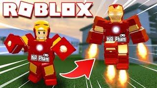 Roblox   KIA SỞ HỮU BỘ GIÁP IRON MAN SIÊU NGẦU - Iron Man Scripting   KiA Phạm