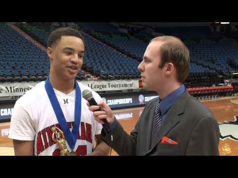 2013 state tournament: Minnehaha Academy guard Kaharri Carter