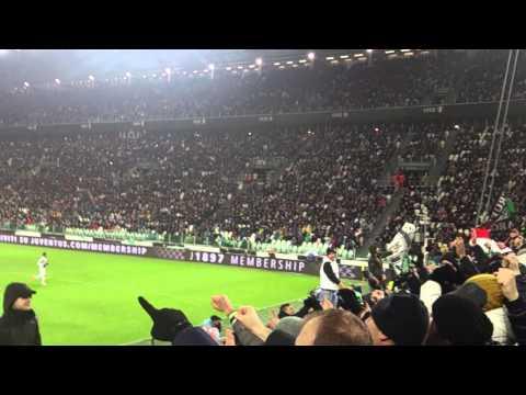 JUVENTUS 4-2 sampdoria Curva Sud: Ohhh Bianconeri alè, Bianconeri alè eh oh...mp4