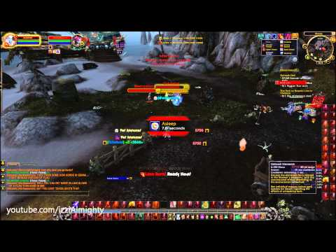 World Of Warcraft Patch 5.3 Elemental Shaman PvP Ownage Lava Burst Crits (Acheleze) Mist Of Pandaria