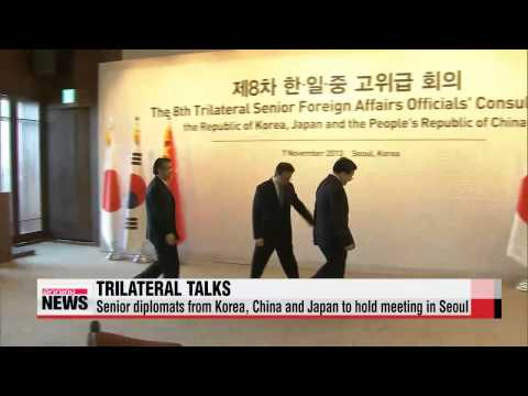 Senior diplomats from Korea, China and Japan to hold meeting in Seoul   한중일 고위급
