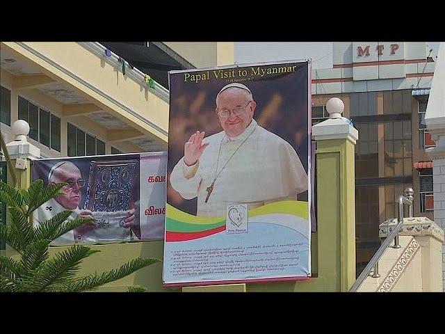 Myanmar Catholics prepare for Pope Francis visit