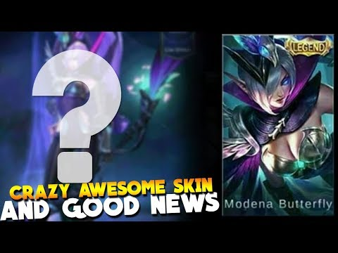 NEW LEGENDARY SKIN! (MUST HAVE!) Mobile Legends Modena Butterfly Miya