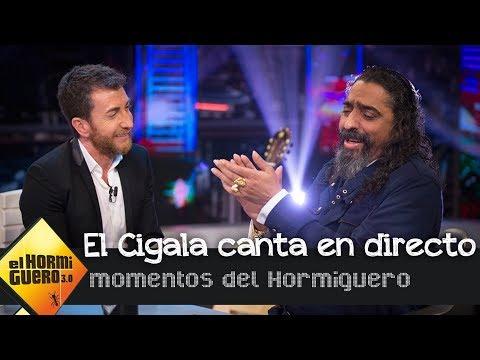 Diego el Cigala canta flamenco en vivo y en directo - El Hormiguero 3.0