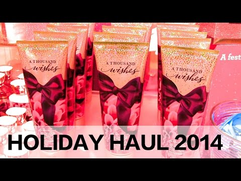Shop With Me at Bath & Body Works | Holiday Haul 2014