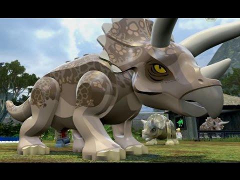 LEGO Jurassic World - Triceratops Territory Free Roam (Jurassic Park Hub)