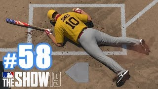 STOP HITTING MY PLAYERS! | MLB The Show 19 | Diamond Dynasty #58