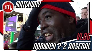 Norwich 2-2 Arsenal | VAR Finally On Our Side! | Match Day VLOG