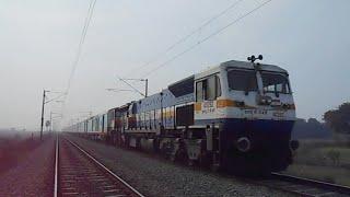 First time ANVT-GKP Hamsafar express rushes for Gonda after skipping Barabanki Junction