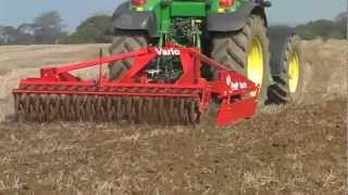 Vario Disc Harrow with retractable tines