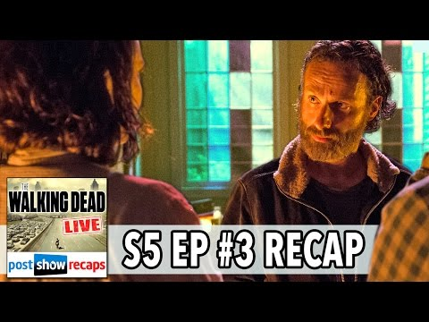 The Walking Dead Season 5 Episode 3 Review   FOUR WALLS AND A ROOF Recap LIVE   October 26. 2014