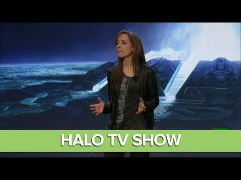 Halo TV Show Reveal at Xbox One Reveal Event - Steven Spielberg
