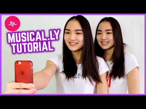 TUTORIAL: КАК СНИМАТЬ MUSICAL.LY?! // Kagiris Twins